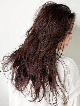 リベルタ(Liberta)の写真/【明るい色の白髪染め☆】ハイトーンで自然な仕上がりも◎白髪染めでもおしゃれを楽しめる!