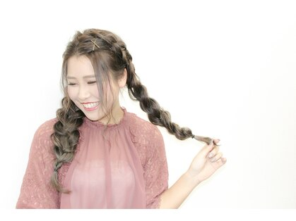 ヘアメイクサロンチュッパ(hair make salon chupa TOKYO)の写真