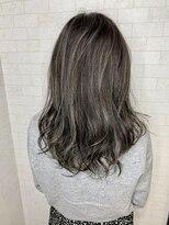 アルマヘア(Alma hair)ダークグレージュ☆ハイライト