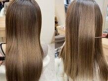 ヘアサロンアンドヘアメイクディー(hair salon hair make D)の雰囲気(髪に優しい高品質の薬剤で髪質改善♪グレイカラーが大人気◎)