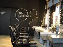 ボブヘアー ザ バーバー 出雲店(BOBHAIR THE BARBER)の雰囲気(男性人気の高い雰囲気のある店内。)