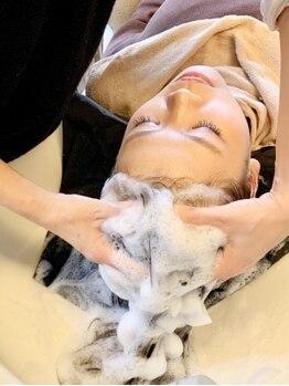 パルティ ヴィエント(PARTI vient)の写真/進化を遂げるヘッドスパの中から'髪により良いもの'を。癒しの時間を堪能しながら髪・頭皮をメンテナンス