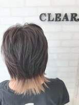 ヘアーアンドメイククリアー(Hair&Make CLEAR)ショートウルフレイヤー