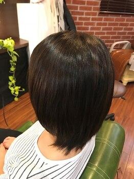 スイッチスタイル(SWITCHSTYLE)の写真/綺麗になりながらストレートが叶う[ハリスノフトリートメント]傷ませず、使えば使うほど美髪になれちゃう♪