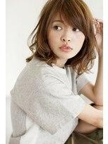 ウル(HOULe)【30歳からの大人可愛いヘア】大人カジュアルパーマミディ☆