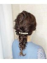 アルマヘア(Alma hair)編みおろし☆フィッシュボーン