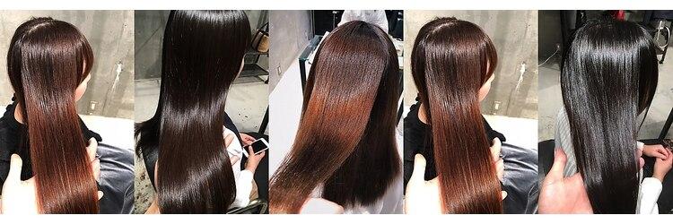 髪質改善と縮毛矯正の専門店 サンティエ(scintiller)のサロンヘッダー