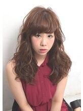 スーパーポジション シンオオサカ(Super Position Shin-Osaka)#ロング#パーマ#アッシュ