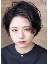 ヴィー ヘアー ファッション バー(VII hair.fashion.bar)VII hair 「かきあげハンサムショート」2