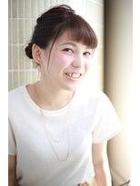 【新宿TOMCAT】ベタベタで暑い時期にキュートアレンジ