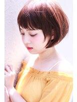 イロドリ ヘアーデザイン(IRODORI hair design)IRODORI 斜めバングのショートボブ  [西尾一寛]