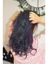 ヘアーサロン エール 原宿(hair salon ailes)(ailes 原宿)style370 ブルージュ☆インナーパープル