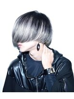 ヘアサロン エフ(HairSalon F)ブラックシルバー