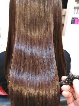 ディシェル(D'ciel)の写真/日々の髪ダメージに!カラーだけでなく、ヘアケアにも特化した注目サロン♪大人女性の艶髪を叶えてくれる★
