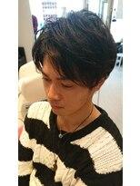 ヘアーリゾートラシックアールプラス(hair resort lachiq R+)《R+》メンズカット☆ナチュラル