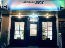ヘアースペース スカイ(Hair Space SKY)の雰囲気(姫路市役所・北側すぐ!店舗横に駐車スペースもあって安心♪)