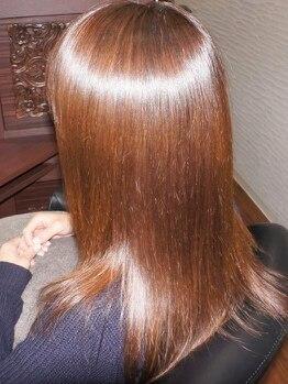 クリップ オン ヘア(CLIP on hair)の写真/【髪質改善】1人1人に合わせたオーダーメイド施術で、あなた史上一番キレイなツヤ髪に─。
