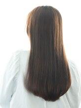 """ヘアーサロン ラフリジー(Loufreasy)【髪質改善】酸熱水素トリートメントで""""ツヤ髪""""ストレート"""