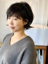 ラトリエコンタン(L´atelier Content)【LatelierContent yumi】ショートボブonパーマ