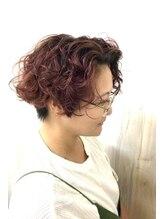 ヘアショップ ホップエム(HAIR SHOP HOP M)ビンテージモーヴ