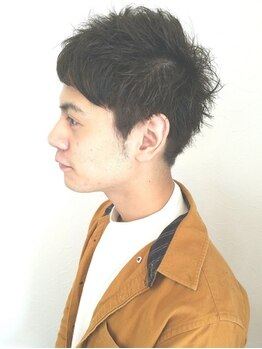 ヘアーアトリエギフト(Hair Atelier Gift)の写真/【佐賀大和/駐車場有】丁寧なカウンセリングが自慢の男性Stylist在籍!ON/OFF切替自在のstyleをご提案!!