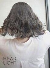 アーサス ヘアー デザイン 北千住店(Ursus hair Design by HEADLIGHT)ネイビーブルー×シースルーハイライト