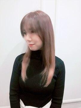 グランヘアー 豊岡店(GRAN HAIR)【GRANHAIR豊岡店】ロング×パステルピンク