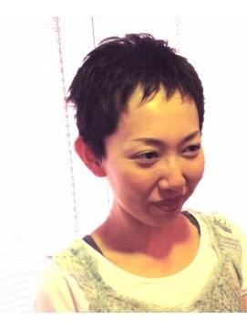 ヘアーカーブ(haircarve)haircarve☆夏サキドリ・ベリーベリーショート★