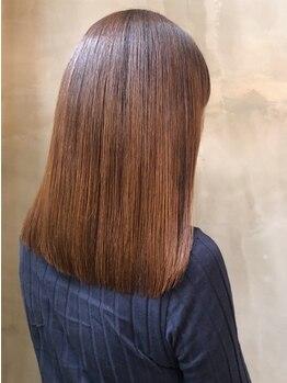 マッシュ キタホリエ(MASHU KITAHORIE)の写真/一人一人のご要望に沿えるような豊富なストレートメニューを取り揃え◎MASHUの高い技術で自信のもてる髪に!