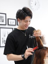 ラルジュヘアイコール(Large hair equal =)野原 大嗣