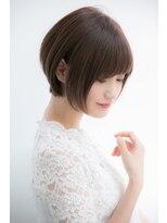 【Euphoria銀座本店】綺麗なフォルムのショートボブ☆長谷川