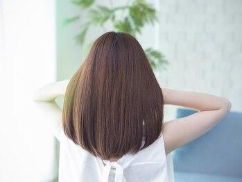 オリーブ(olive)の写真/【お悩み解決】olive自慢のオーダーメイド縮毛矯正で癖・うねり毛を綺麗なストレートヘアにしませんか☆