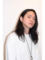 ソフトツーブロック×メンズロングヘア【HairSalon TAKAHIRO】