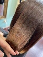 ヘアメイク ユーユ(Hair make U YU)【ウルツヤ】酸性ストレート+X