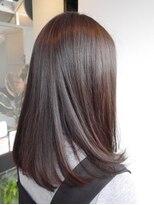 ヘアメイク オブジェ(hair make objet)透明感カラー