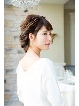 アトリエマサコ ホテル横浜キャメロットジャパン店(Atelier MASAKO)編み込み×ねじりパーティーアップ