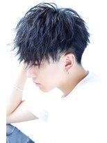 リップスヘアー 銀座(LIPPS hair)フェザー質感 ラフメーカーマッシュ