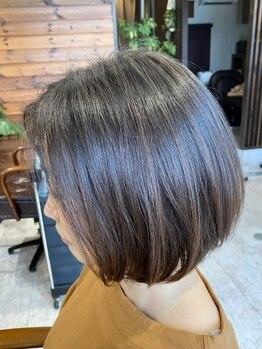 エニー(Any Hair Life)の写真/エイジング毛でお悩みの方に♪カットと合わせてこだわりのヘッドスパで未来の美しい髪を育みます◇