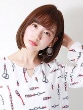 ブラン(Blanc)☆軽め前髪×ひし形ボブ☆
