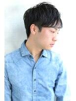 【Blanc/目黒】簡単スタイリング_ツーブロック_束感ショート2s