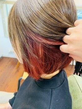 """ヘアサロンシルク(Hair Salon Silk)の写真/【キッズスペース有】厳選した""""本当に良いもの""""を使用し、ダメージレスにワンランク上のスタイルを実現♪"""