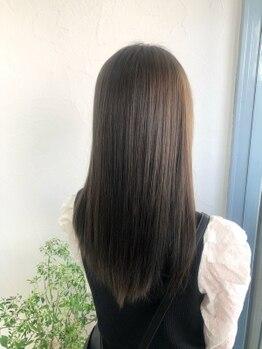 リベルタ(Liberta)の写真/ダメージヘアでお悩みの方やブリーチなどで髪の傷みが気になる方も、一人一人に合わせた髪質改善をご提案★
