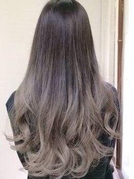 ヘアメイク アンジェリーク 蕨店(Hair Make Angelique)の写真/外国人風カラー、ビビットカラーが大人気☆独自のダメージレスカラーであなただけのカラーデザインを☆