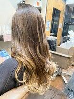 ナナナパレナ 心斎橋店(nanana parena)髪質改善トリートメントカラー♪くすみカラーハイライトスタイル