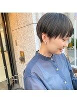 【yui_hair】刈上げベリーショート