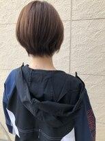 ヘアーシー(HAIR C,)簡単スタイリング 丸みショート