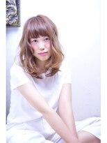 オブヘアー 鷺沼店(Of HAIR)かわいいフェミニンセミディ☆