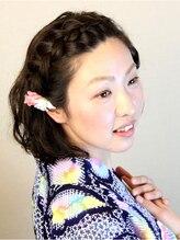 アイディアルヘアー ボニート(idealhair bonito)前髪編みこみアレンジ♪