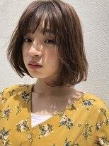 ガーデン ハラジュク(GARDEN harajuku)【鈴木ゆうすけ】風に揺らぐやわらかボブ