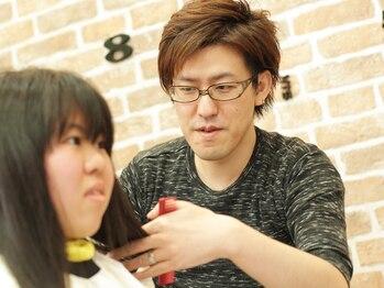 アトリエ ブイ(atelier v)の写真/完全マンツーマンのプライベートサロン☆髪のことを熟知した気さくなスタイリストに何でもおまかせ下さい♪